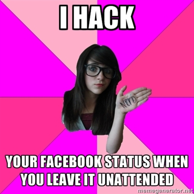 Idiot Nerdy Girl hack