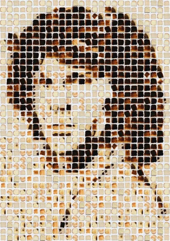 Jim Morrison Toast Portrait by Henry Hargreaves