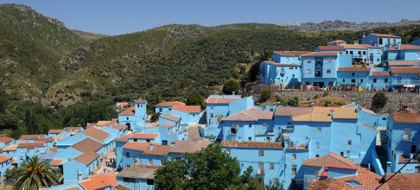 Juzcar Pueblo Pitufo Malaga Spain