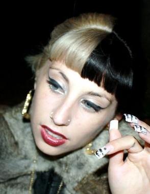 Kreayshawn Looks Like Lady Gaga