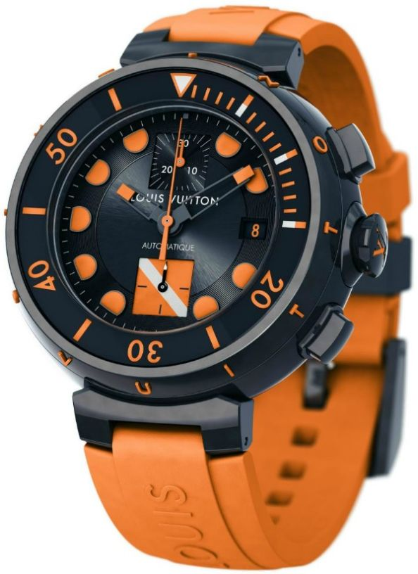 Louis Vuitton Tambour Diver Chronograph Only Watch 2011