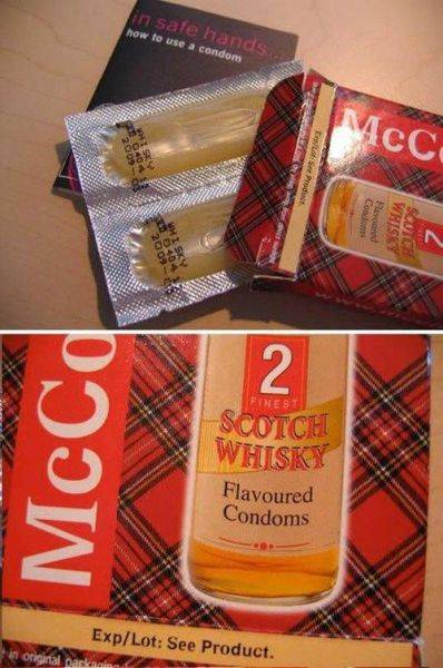 Peculiar Condoms for the Weird Minded