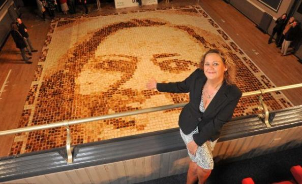 Worlds Largest Toast Portrait