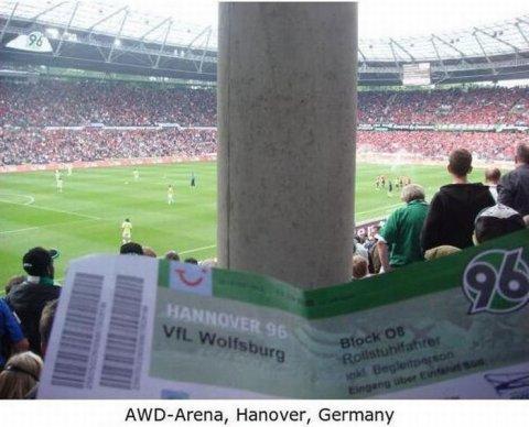 Worst Seats Stadium Germany
