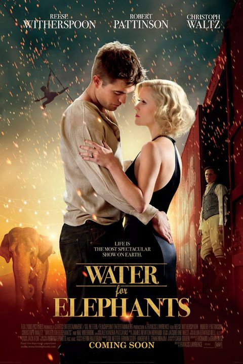 water for elephants books turned movies 2011