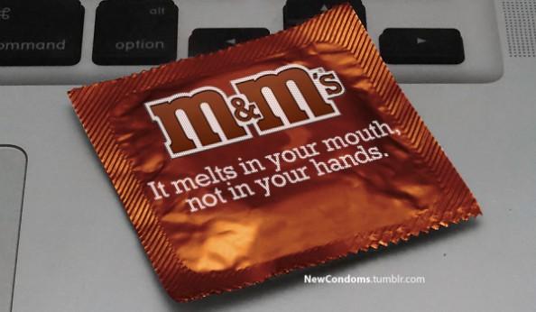 Branded Condoms M&Ms