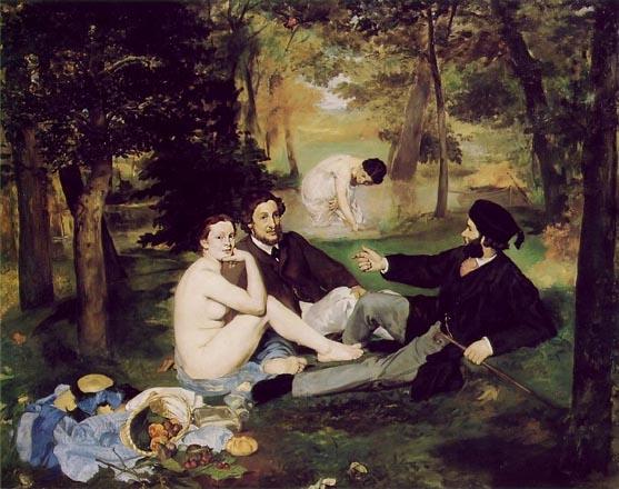 Edouard Manet Dejeuner sur l'herbe