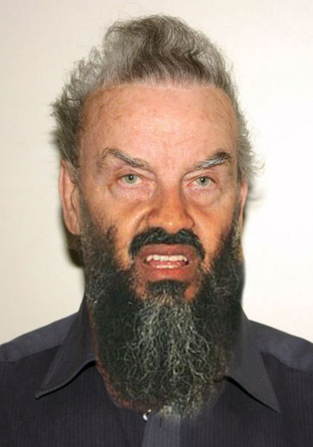 Osama Beard Frenzy Fritzl