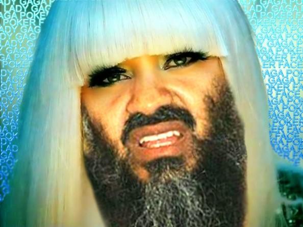 Osama Beard Frenzy Lady Gaga