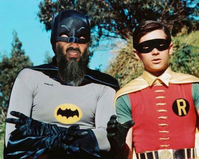 Osama Beard Frenzy Batman Robin