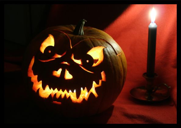 Scary Halloween Pumpkin by TitanaCrotu