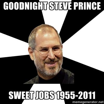 Steve Jobs Worst Death Jokes sweet prince