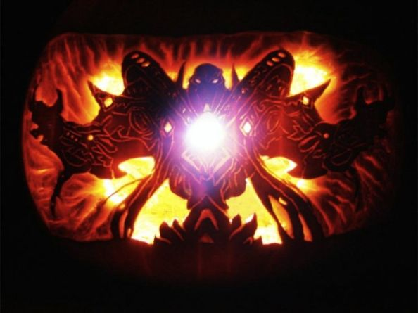 Tassadar Halloween Pumpkin