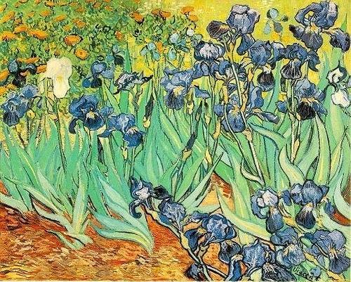 Van Gogh Irises Painting