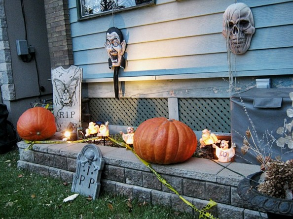 halloween decoration northern countries