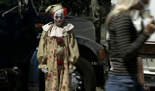 The killer clown from Supernatural