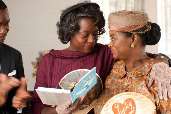 Aibileen Clark Viola Davis and Minny Jackson maids in The Help Movie 2011