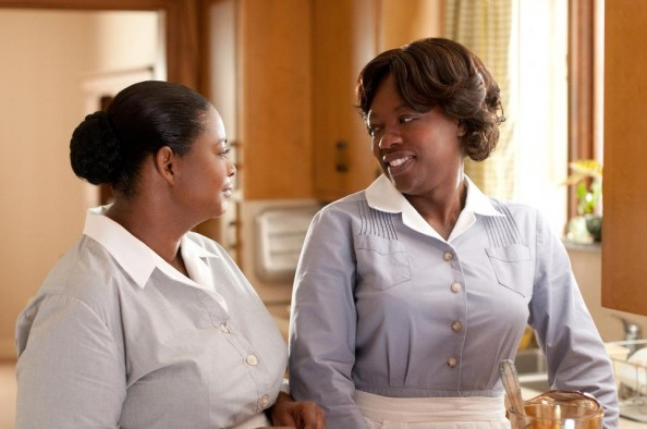Aibileen Clark and Minny Jackson maids in the Help movies 2011