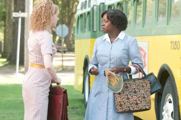 Emma Stone dresses in The Help movie 2011