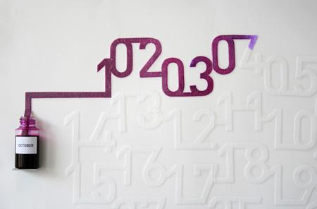 Ink Calendar Design by Oscar Diaz