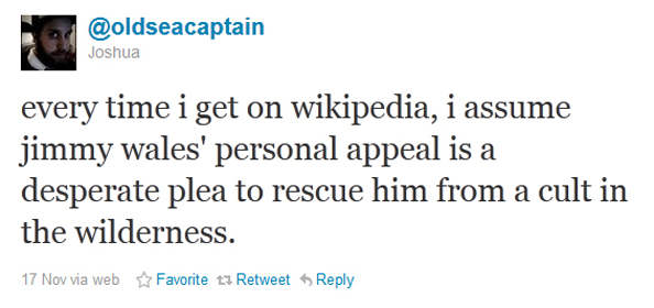 Jimmy Wales And the Cult Of Wilderness