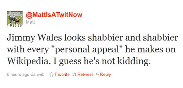 Jimmy Wales Shabbier