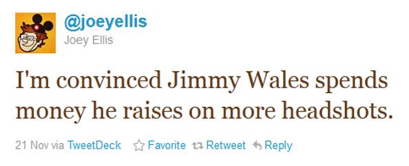 Jimmy Wales and Headshots