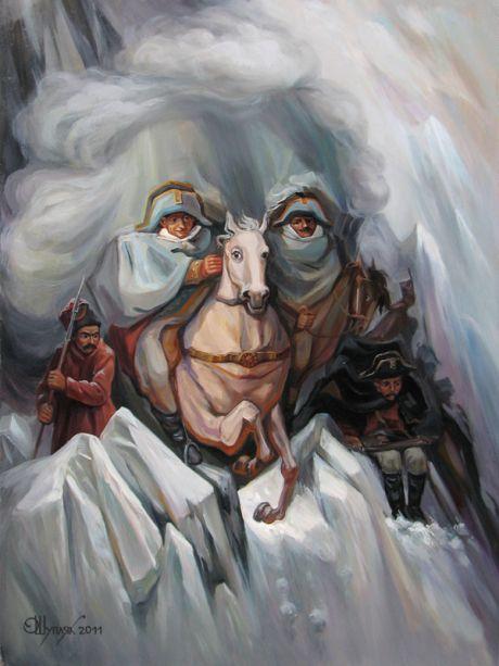 Oleg Shuplyak Hidden Images Paintings 1