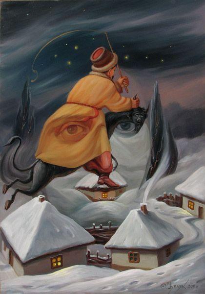 Oleg Shuplyak Hidden Images Paintings 11