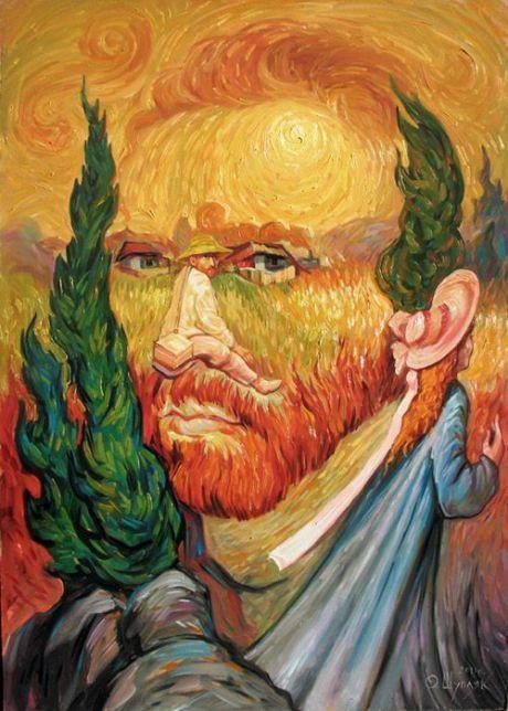 Oleg Shuplyak Hidden Images Paintings 3