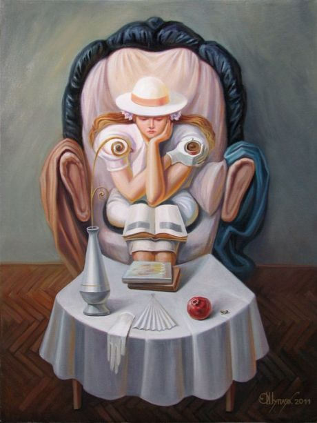 Oleg Shuplyak Hidden Images Paintings 5