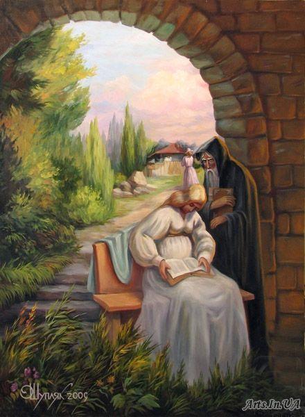 Oleg Shuplyak Hidden Images Paintings 8