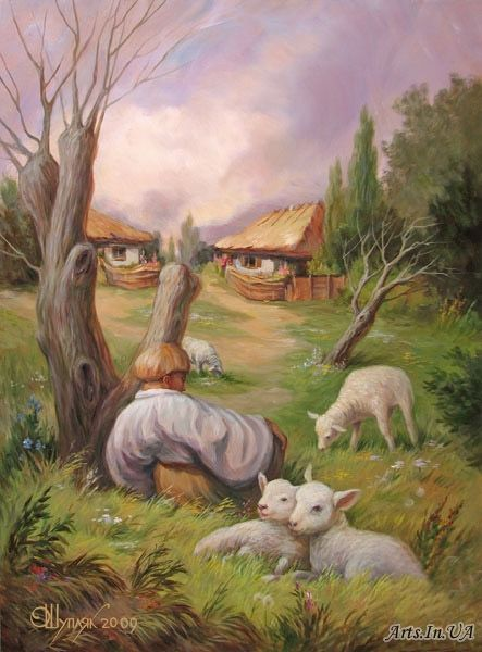 Oleg Shuplyak Hidden Images Paintings 9