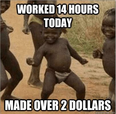 Third world success meme 14