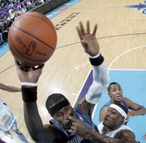 Picture At The Right Moment NBA