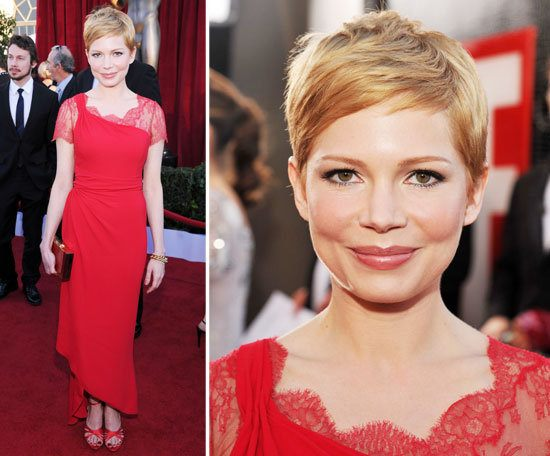 Michelle Williams Wearing Valentino at the 2012 SAG Awards