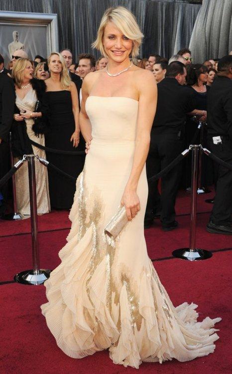 Cameron Diaz at The 2012 Academy Awards