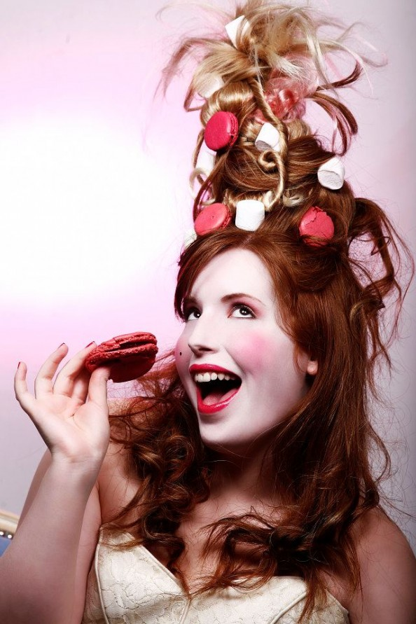 Carla Dias French make-up artist theater make-up