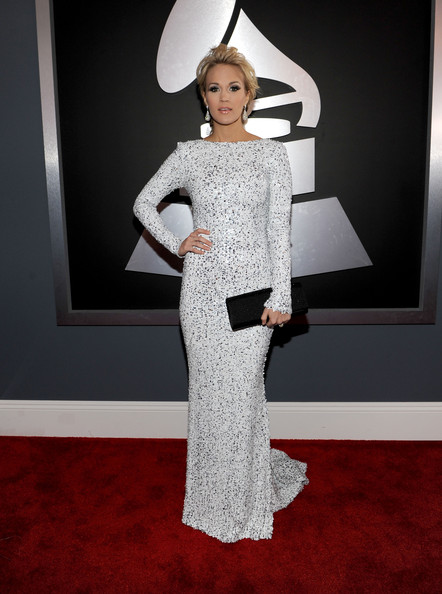 Carrie Underwood at the 2012 Grammy Awards
