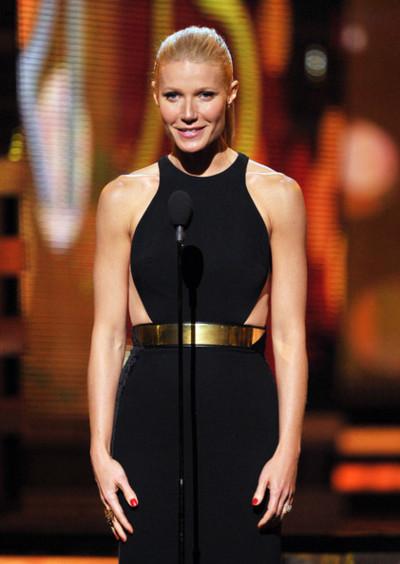 Gwyneth Paltrow in Stella McCartney at the 2012 Grammy Awards