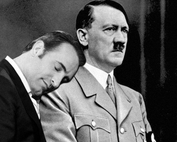 Jean Dujardin and Hitler
