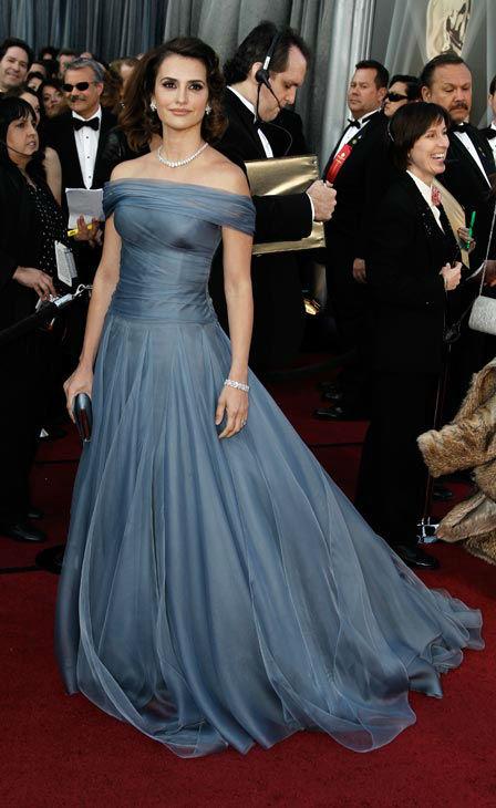 Penelope Cruz at The 2012 Academy Awards