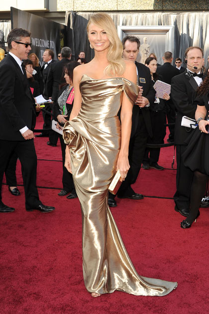 Stacy Keibler at The 2012 Academy Awards