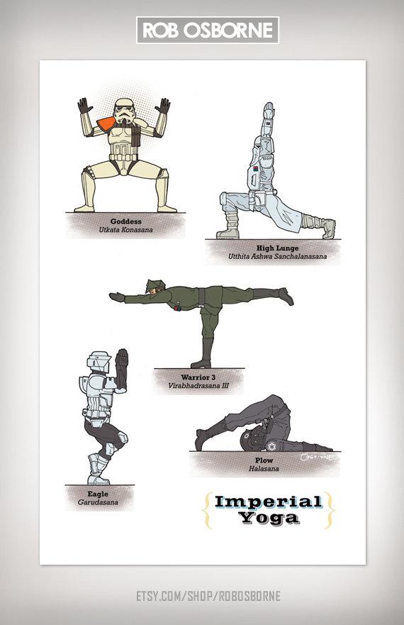 Star Wars Yoga Imperial