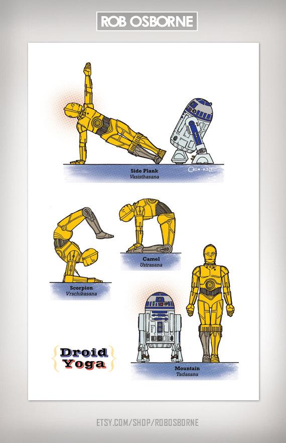 Star Wars Yoga Droid