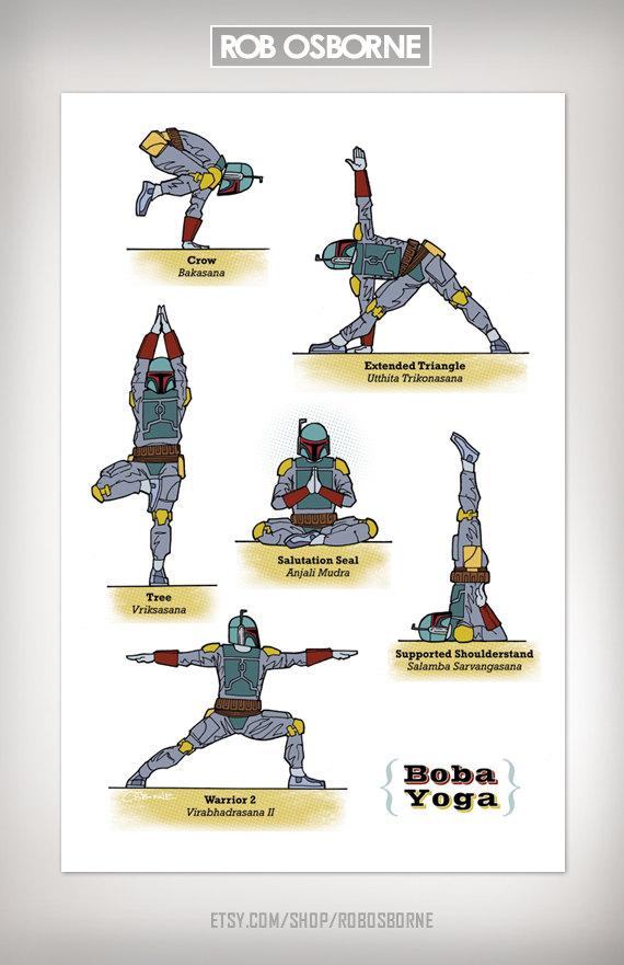 Star Wars Yoga Boba
