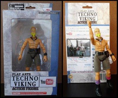 Techno Viking Action Figure Toy