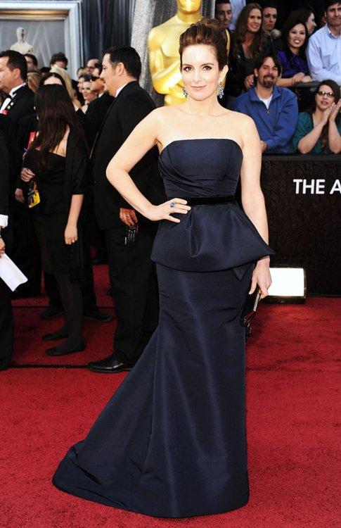 Tina Fey at the 2012 Academy Awards