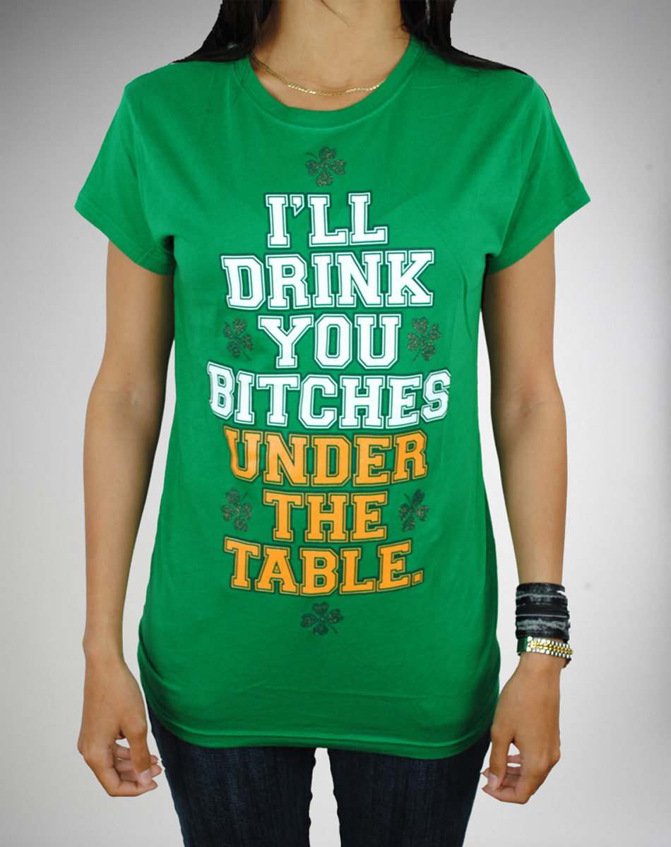 Drink under the table T-shirt