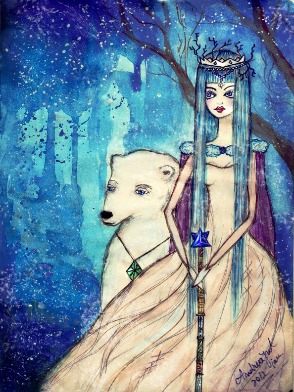 Andreea S Paintings and Drawings 5